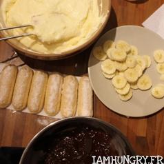 Tiramisu banane chocolat 2