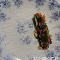 Rouleaux de printemps avocat choux mais rizrouge carotte menthe 2