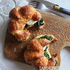 Croissants aux e%cc%81pinards 1e