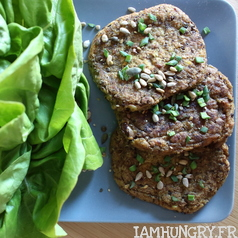 Steak vegan haricots rouges 1e