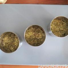 Mille feuilles quinoa che%cc%80vre frais tomates 5