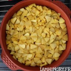 Gateau aux pommes renverse%cc%81 3