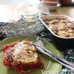 Gratin celeri tomate 1b carre