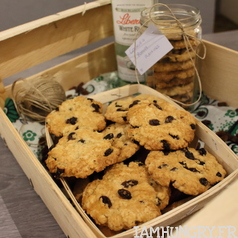 Cookie rhum raisin 1e