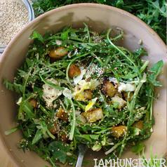 Salade de pissenlits 1 carre