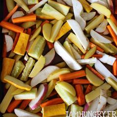 Legumes rotis erable 2
