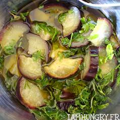 Aubergine fenouil confit a l huile 3