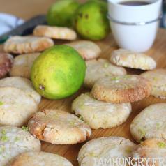 Crinkles citron vert carre