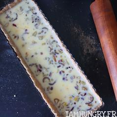 Tarte poire noix roquefort 5