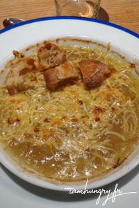 Soupe oignons
