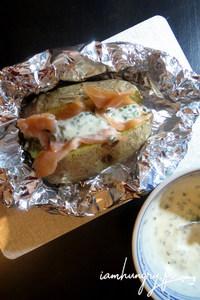 Pomme de terre saumon cre%cc%80me