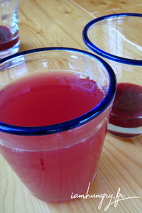 Sirop fruits rouges