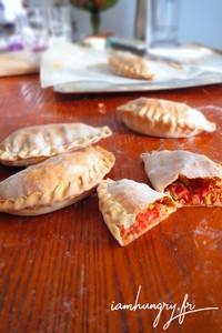 Empanadas tomates thon