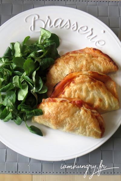 Chausson au gorgonzola