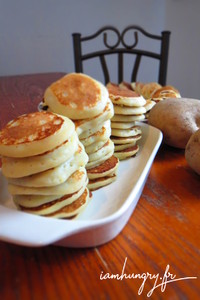Blinis patate