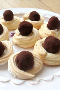 Meringue truffes rect