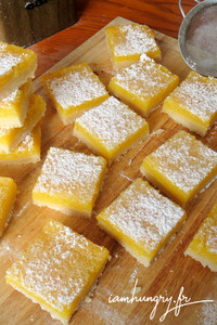 Lemon bars rect