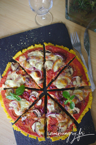 Pizza de semoule