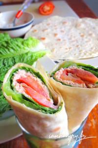 Wrap thon tomate rect