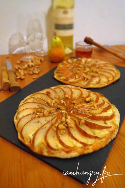 Tartelettes roquefort-poires