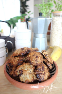 Cookie banane rhum 1a