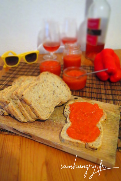 Red peppers cream