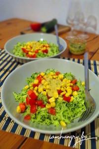 Salade courgette rape%cc%81e
