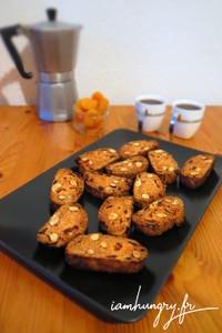 Croquant amande abricot