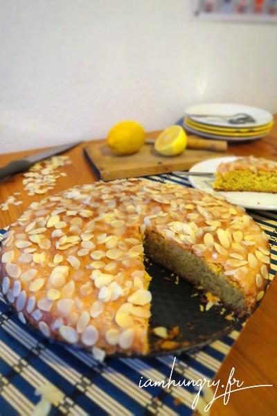 Gâteau italien aux amandes et citron