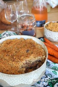 Crumble carottes noisettes rect