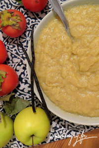 Compote pommes kaki vanille rect