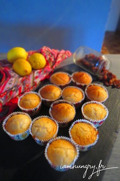 Muffins vegans au citron