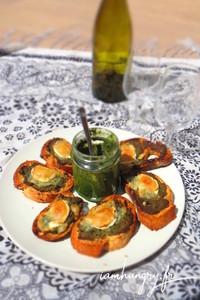 Pesto fanes carottes