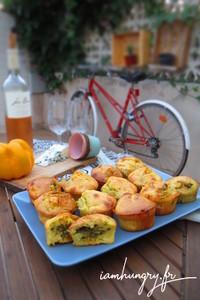 Muffin poivron roquefort