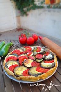 Tatin aubergine tomate