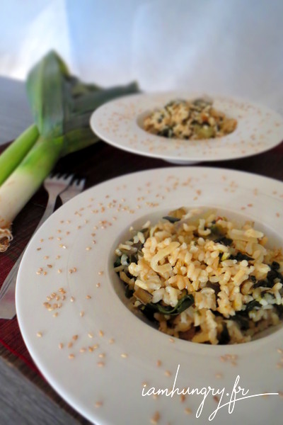 Risotto aux herbes
