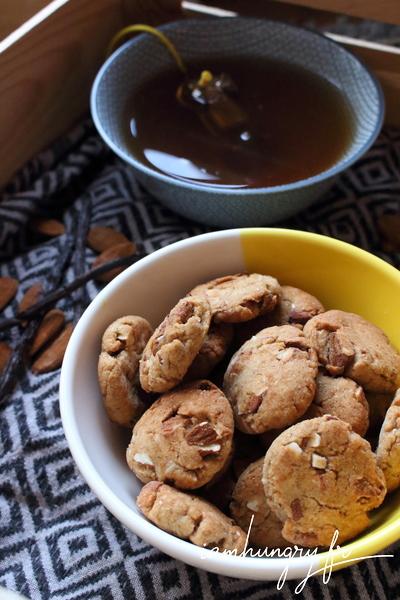 Biscuits à l'okara et aux amandes