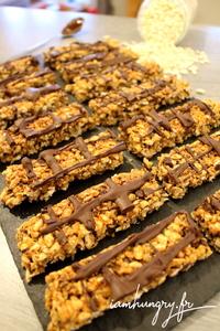 Barres cereales riz souffle%cc%81 chocolat