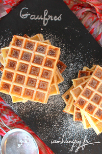 Gaufre rect