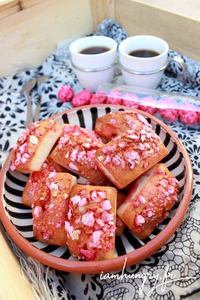 Financier praline rose