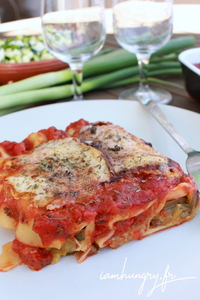 Canelonni courgette tomate