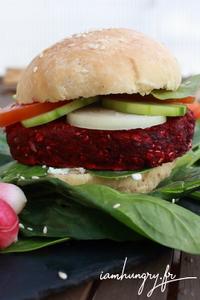 Burger betterave 1d