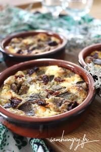 Clafoutis aubergine feta tomates se%cc%81che%cc%81es 1d