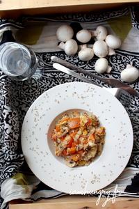 Risotto champignons potimarron 1d