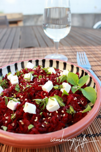 Salade de betteraves rapées