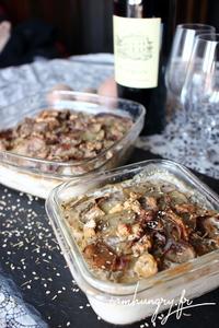 Gratin dauphinois patate navet roquefort 1b