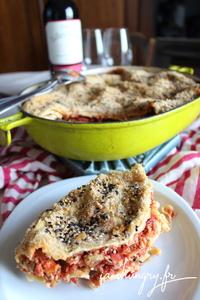 Lasagnes bolognaises vegan 1a
