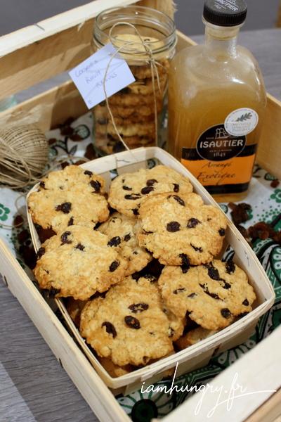 Cookies rhum raisins