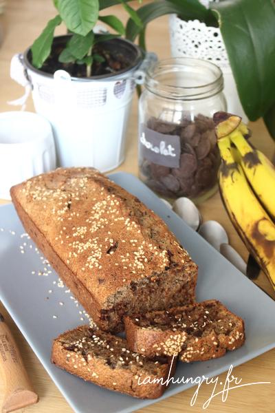 Gâteau aux peaux de bananes