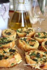 Garlic bread perdu rect